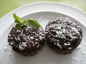 Gezonde chocoladetaartjes
