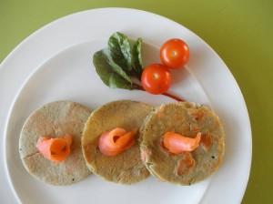 Hartige gezonde pannenkoekjes