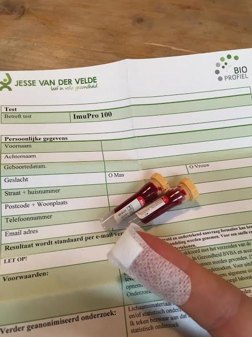 voedselintolerantie test ziekenhuis