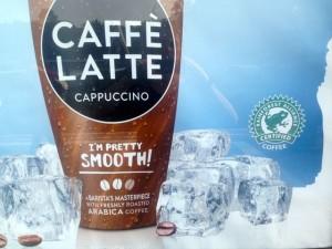 Latte frozen